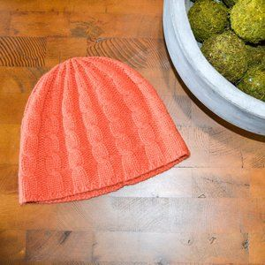 Soft Orange Banana Republic Knit Hat